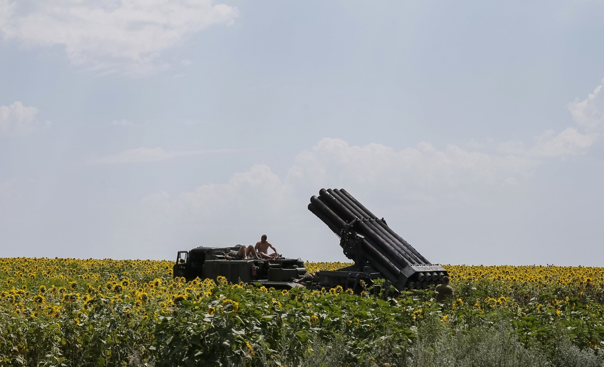 Ukraine Military Plane Shot Down 'By Russia'