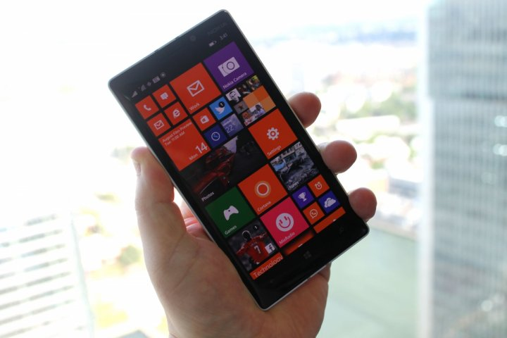 Windows 10 for phones on Lumia 930
