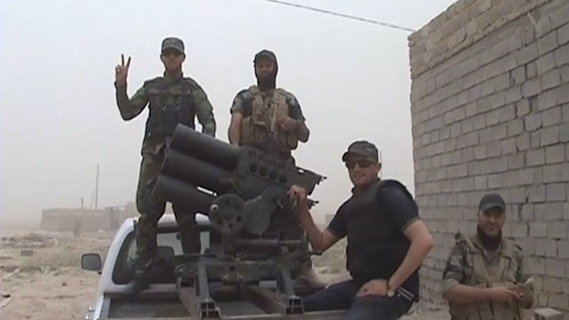 Volunteers Help Iraqi Forces Slow ISIS Advance in Samarra