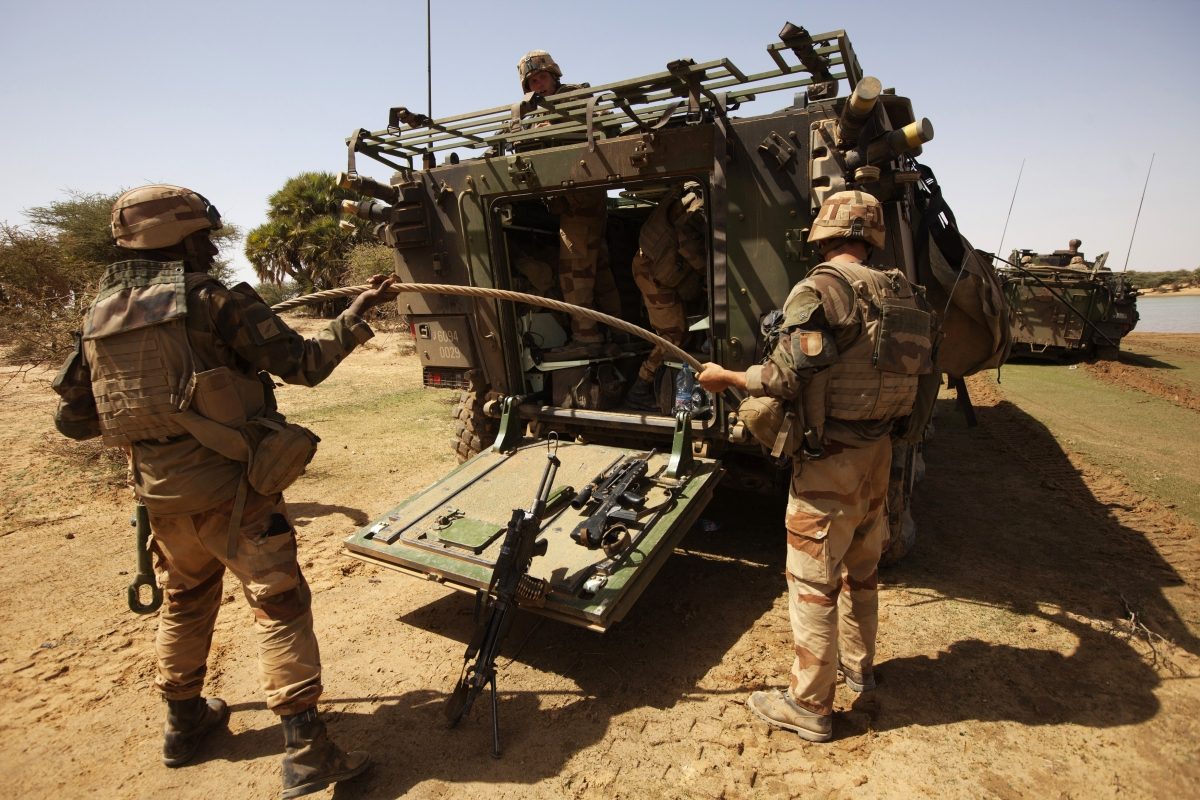 French soldiers Mali
