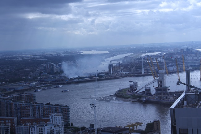 Canning Town fire