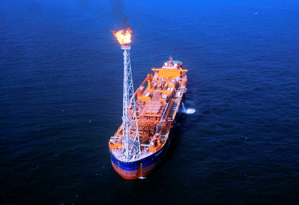 Reliance Industries KG-DG FPSO Vessel