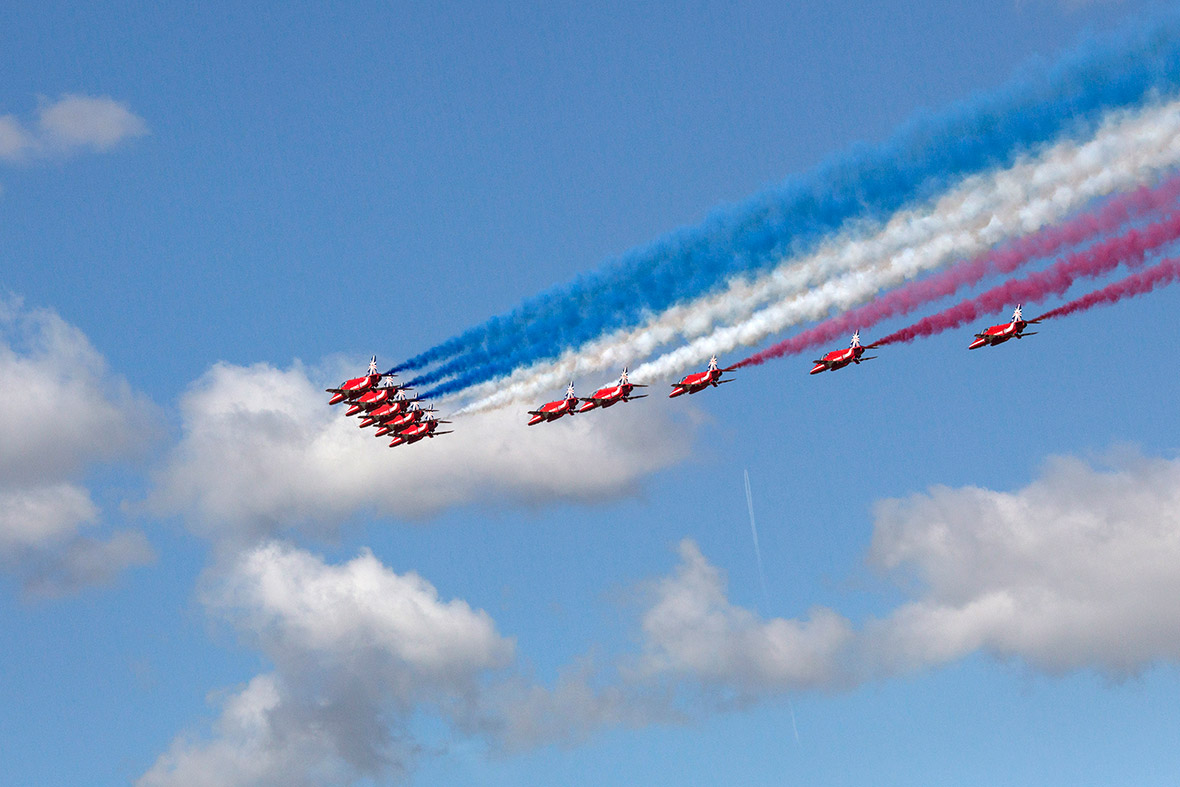 farnborough red arrows