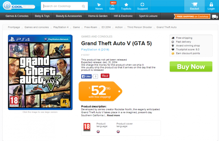 GTA 5: PC and Next-Gen Release Tipped for 14 November