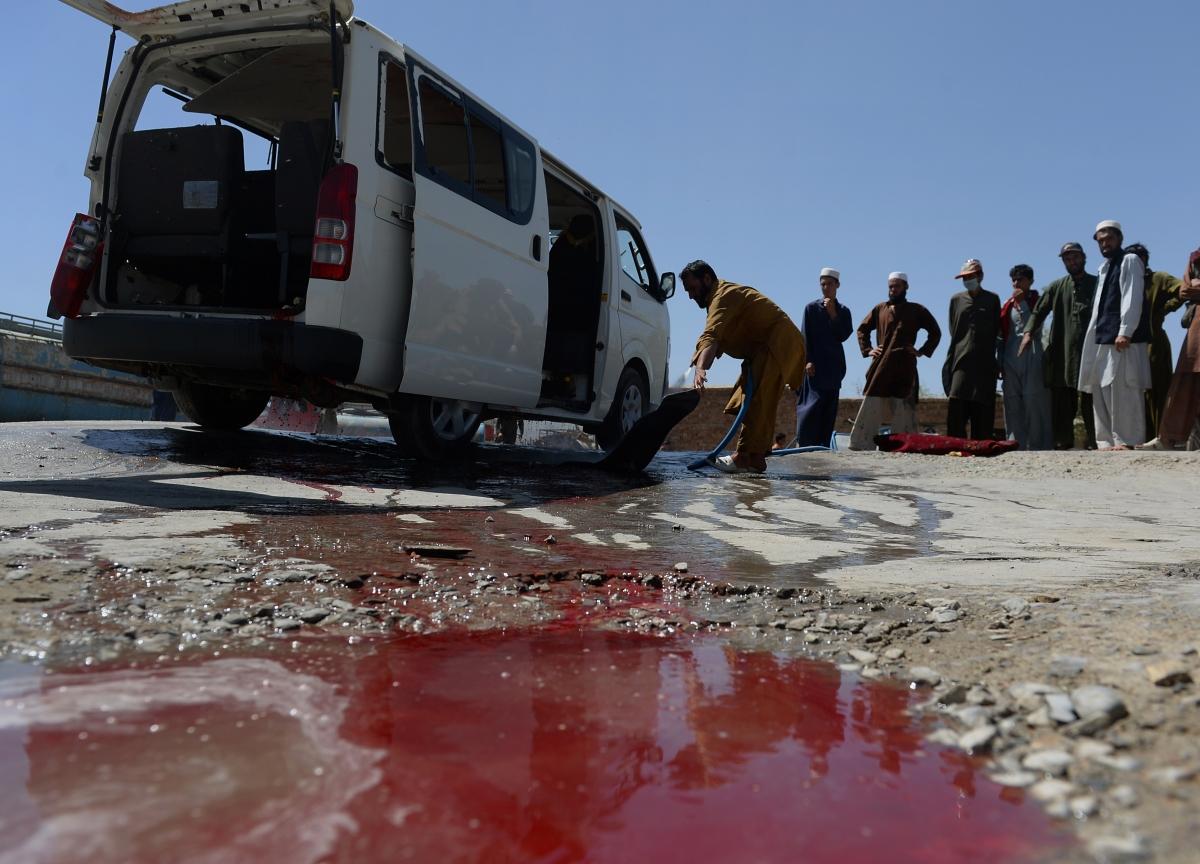 Afghan blasts