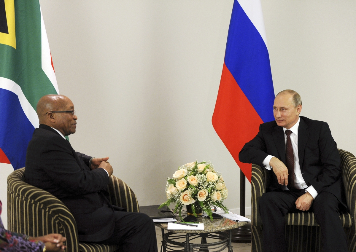 Putin Zuma Brics