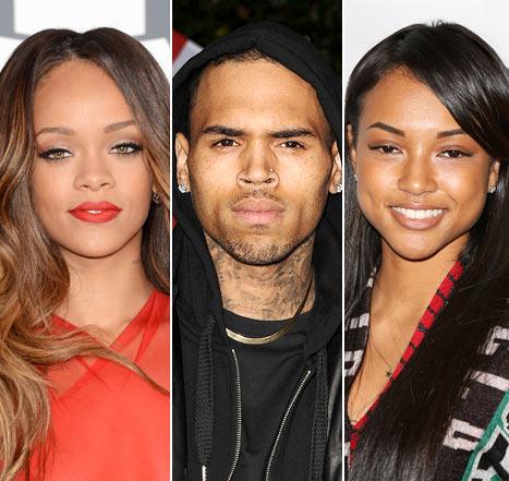 Chris Brown, Rihanna, Karrueche Tran