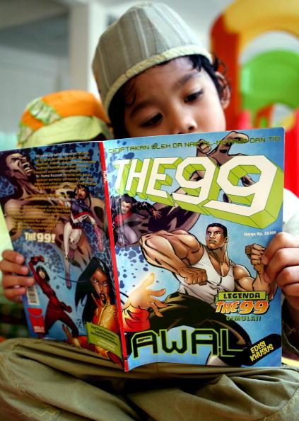 The 99 comic Naif Al-Mutawa