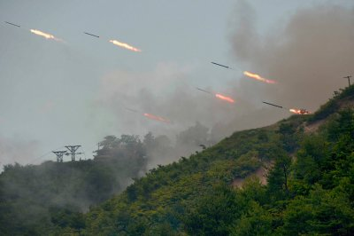 north korea rockets