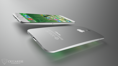 Curved iPhone 6 Concept Art