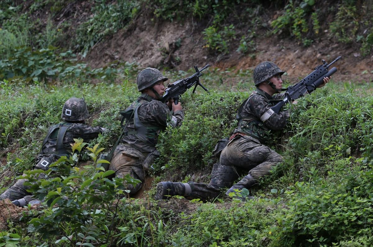 South Korea soldier rampage SpongeBob