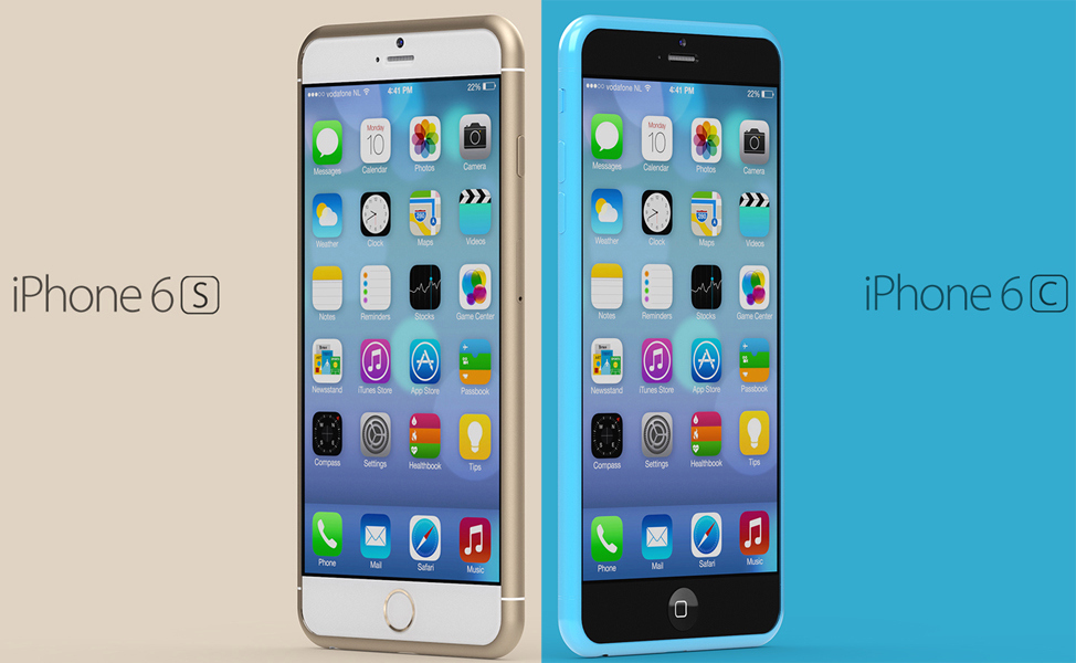 iPhone 6s and iPhone 6c