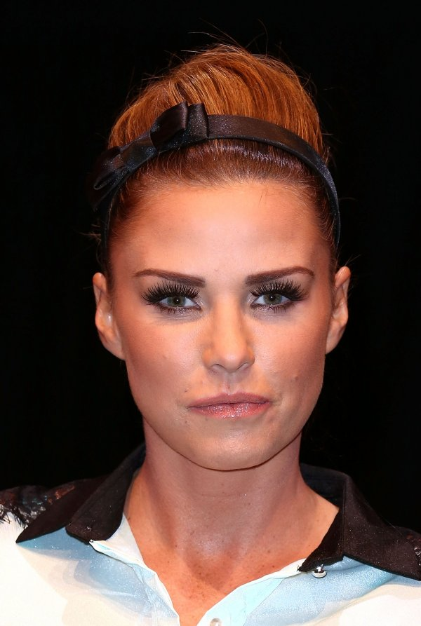 Katie Price poses for the camera