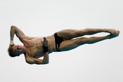 diving faces