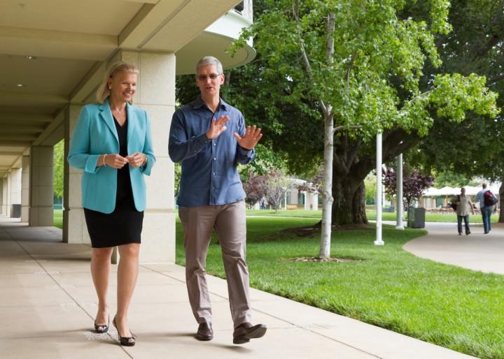 Apple IBM Deal Focuses On iPads and iPhones in Enterprise