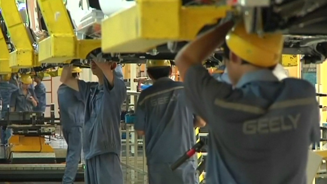 China Growth Picks Up as Stimulus Pays Off