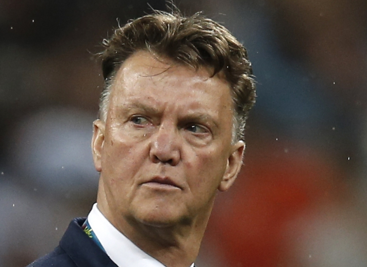 Louis Van Gaal First Press Conference As Manchester United