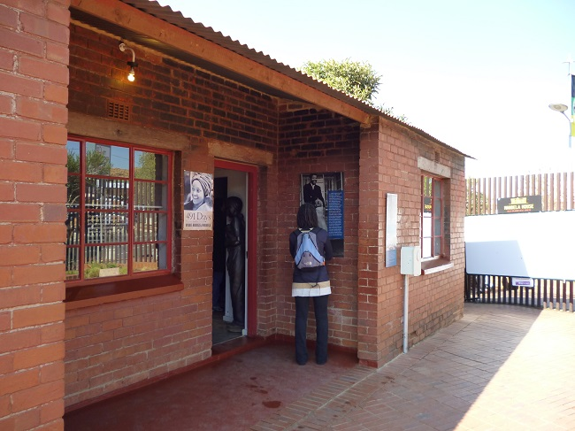 The Nelson Mandela house in Soweto