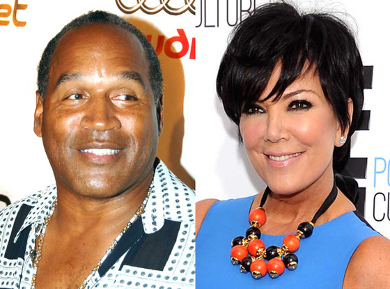 Kris Jenner and O.J Simpson