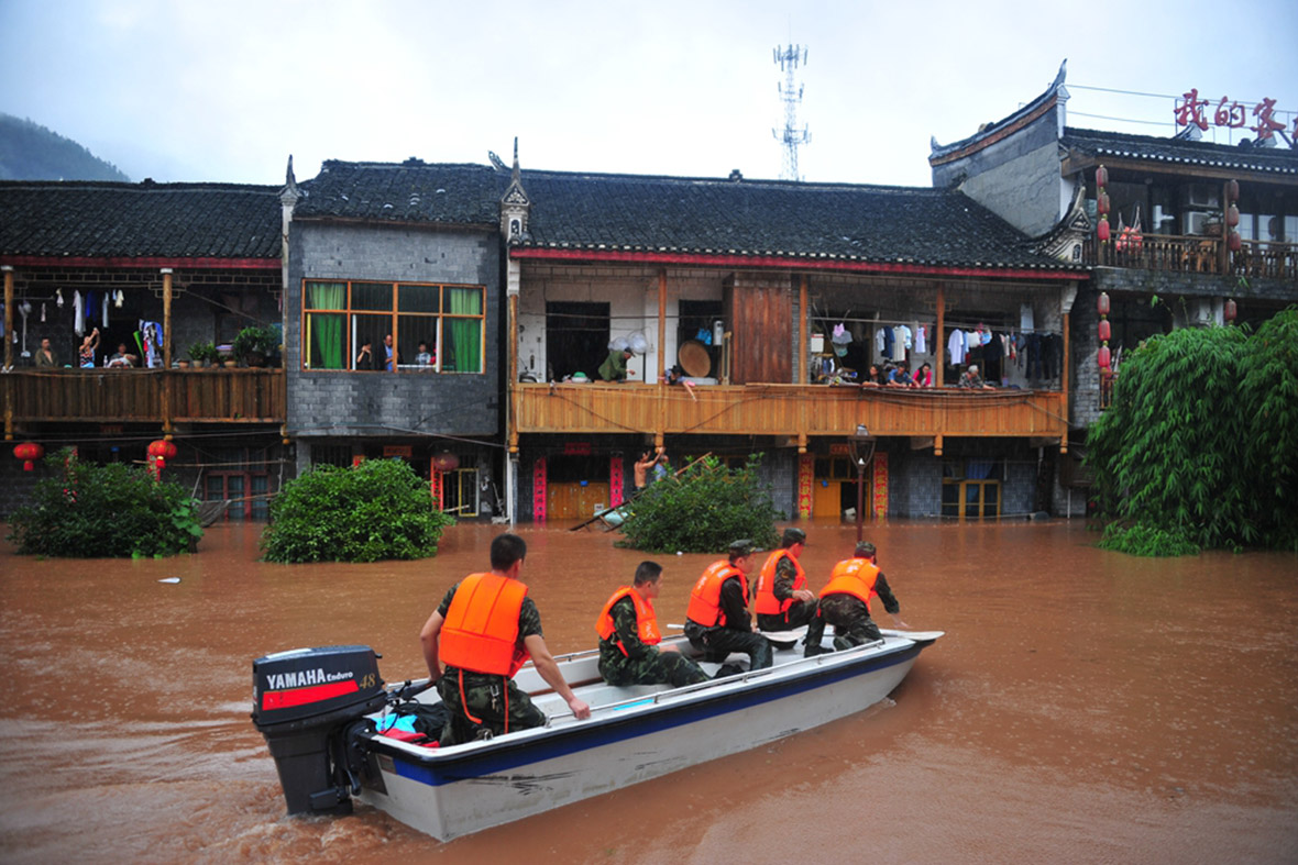 floods china