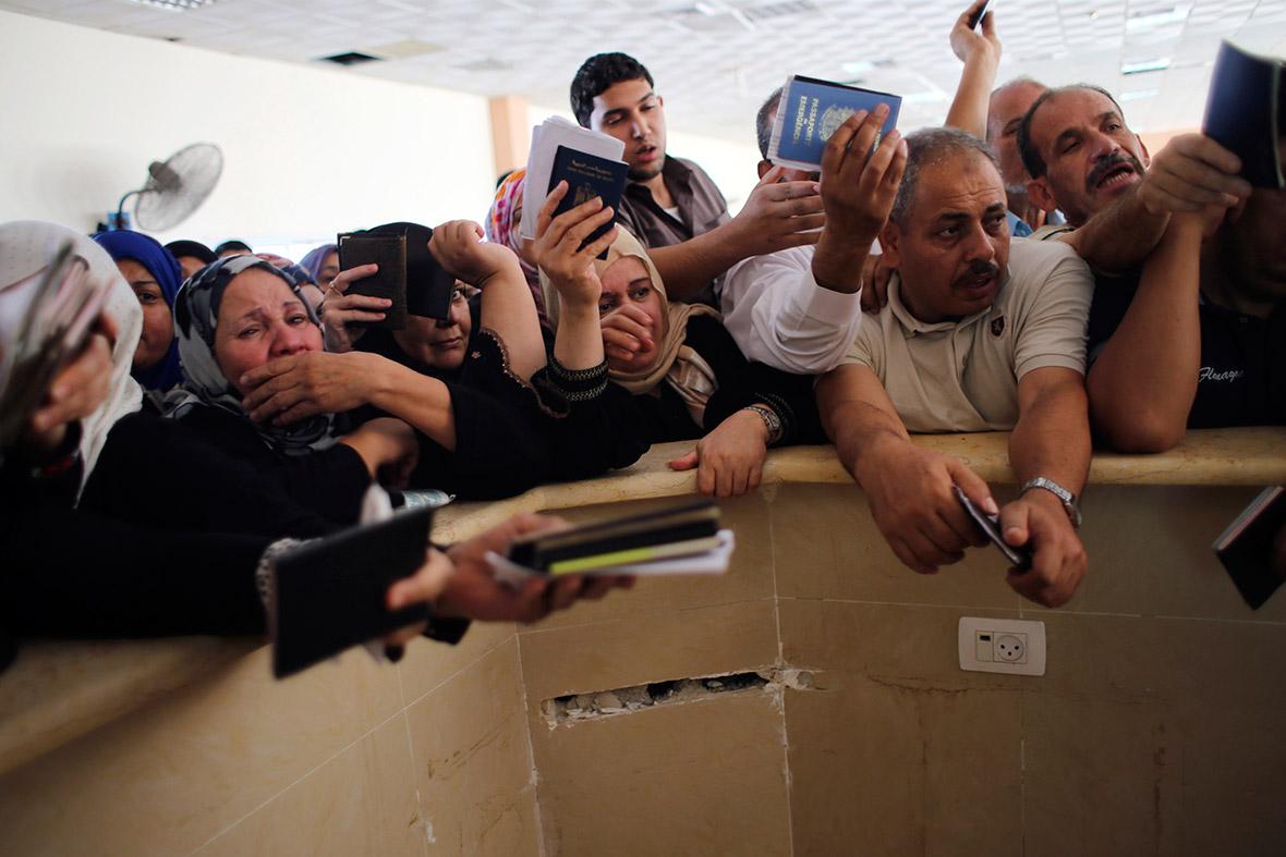 gaza border crossing