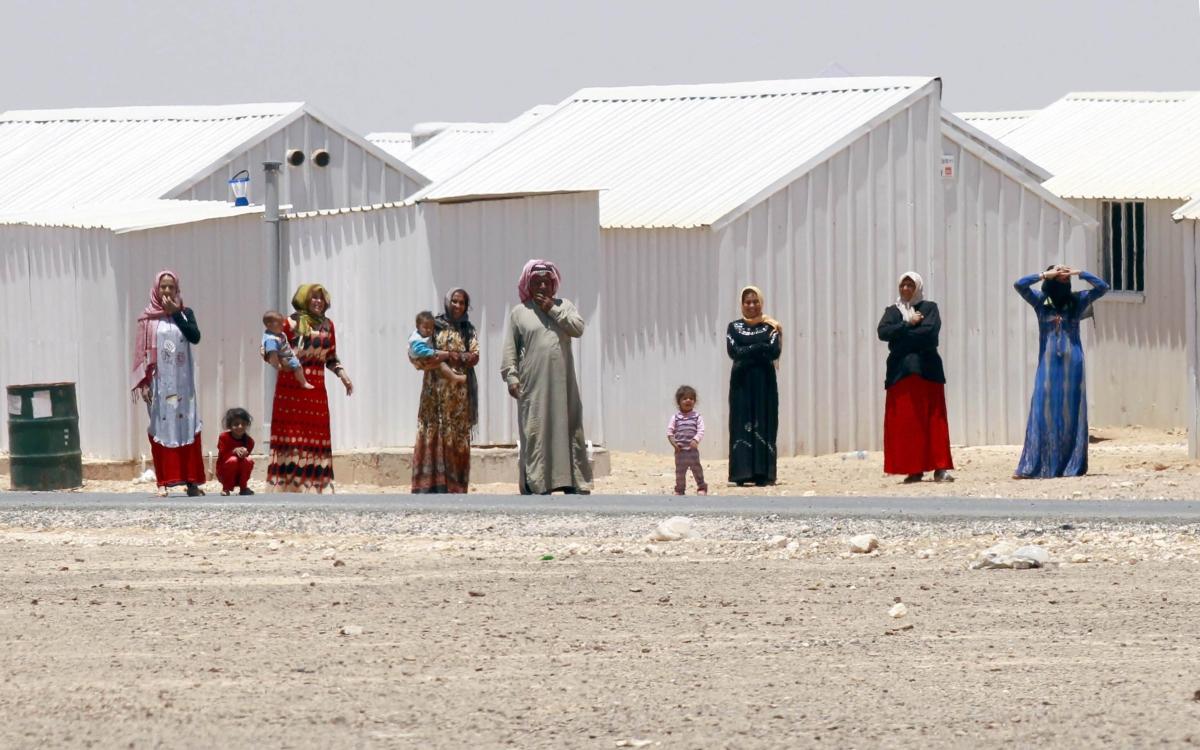 Syrian refugees Jordan child brides
