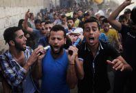 gaza children killed beach