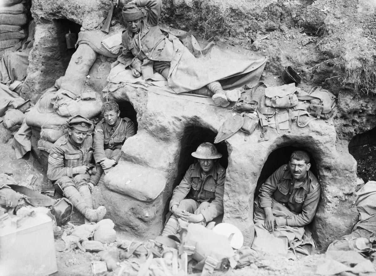 WWI Photo trenches