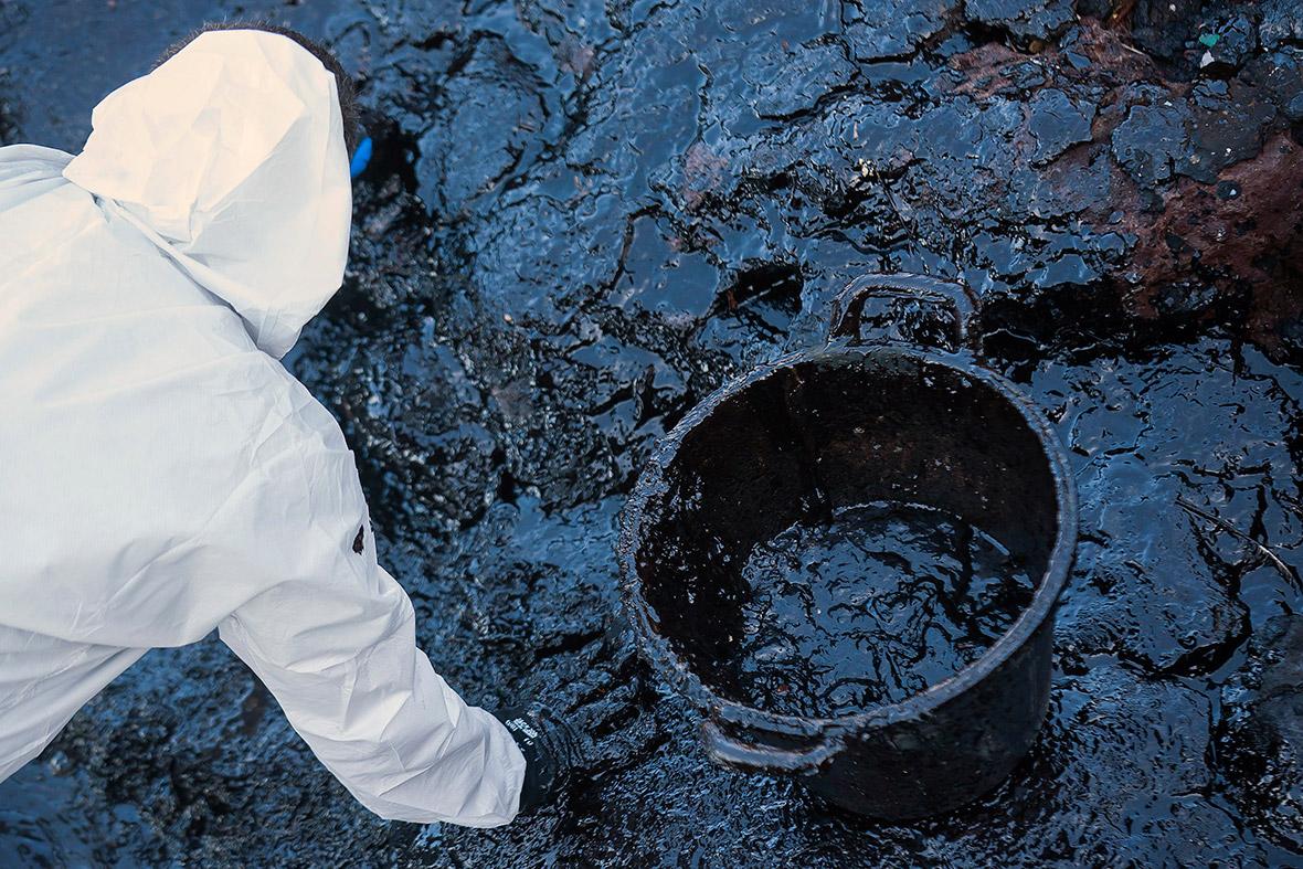 oil spill gran canaria