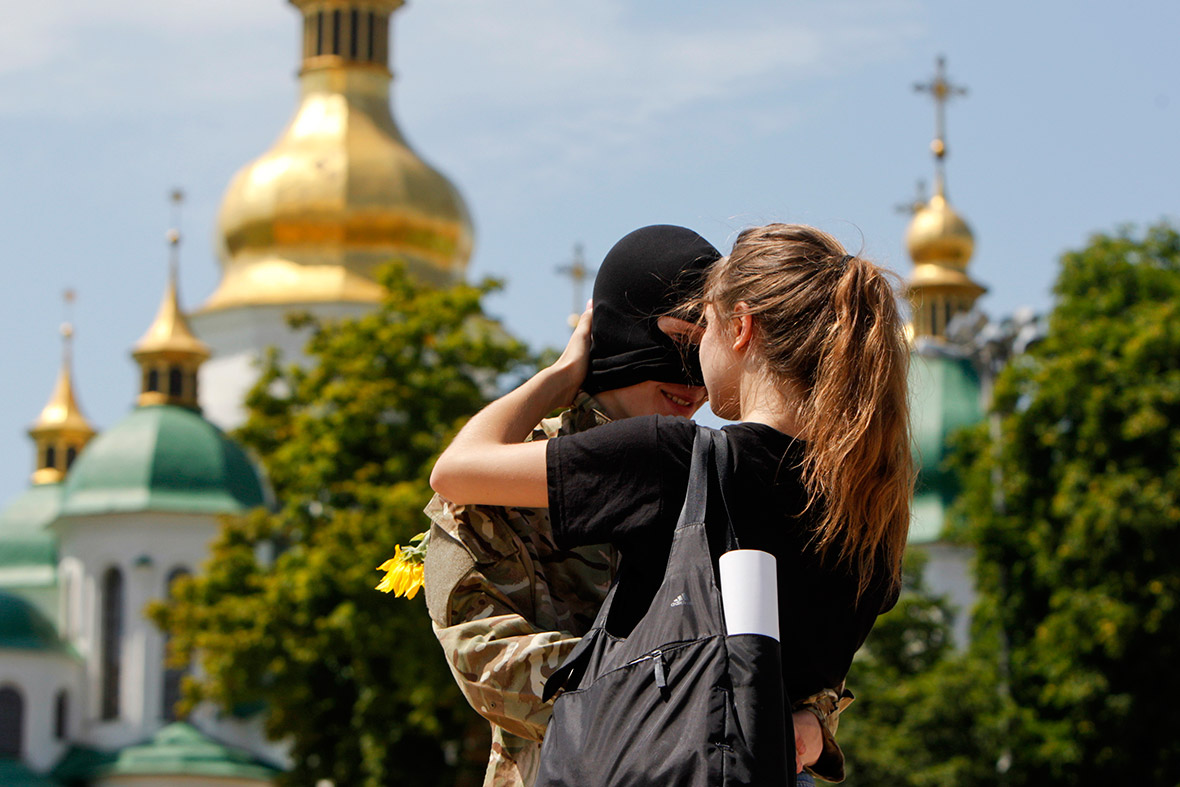 ukraine kiss