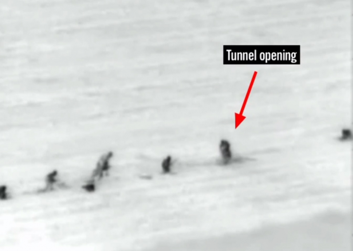 Israel Hamas Gaza Tunnel