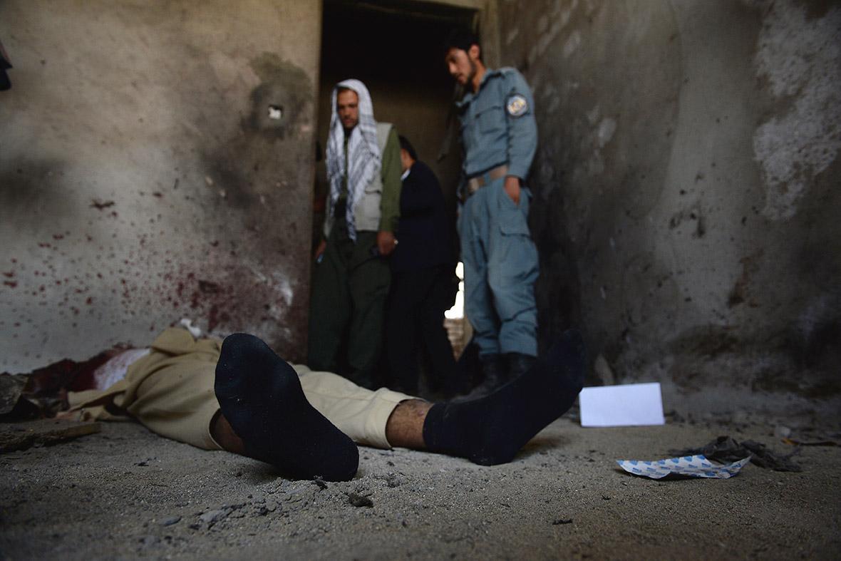 afghan body