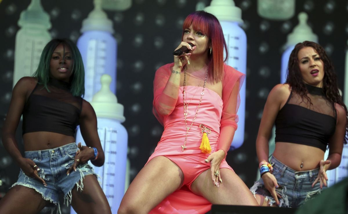 Lily Allen Glastonbury