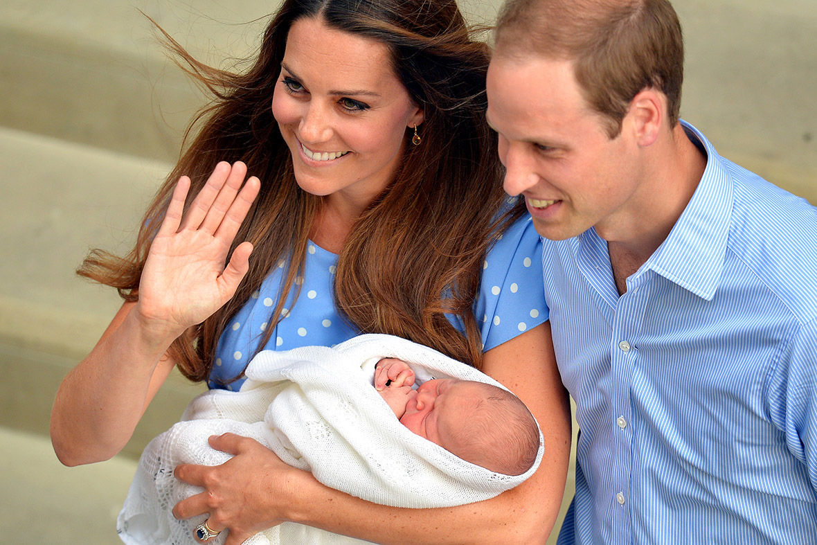 prince george first photo
