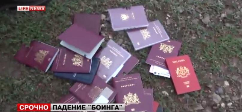 Passports MH17