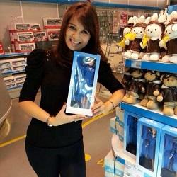 Malaysia Airlines stewardess Angeline Premila