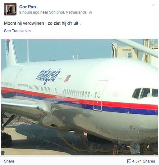 Malaysia Airlines MH17