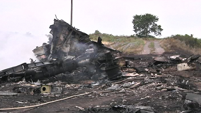 Malaysia Airlines MH17 Shot Down: Armed Pro-Russian Rebels Hamper Search