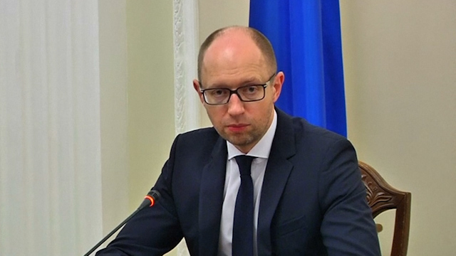 Yatseniuk: MH17 victims Killed by 'Russian-Led Terrorists'