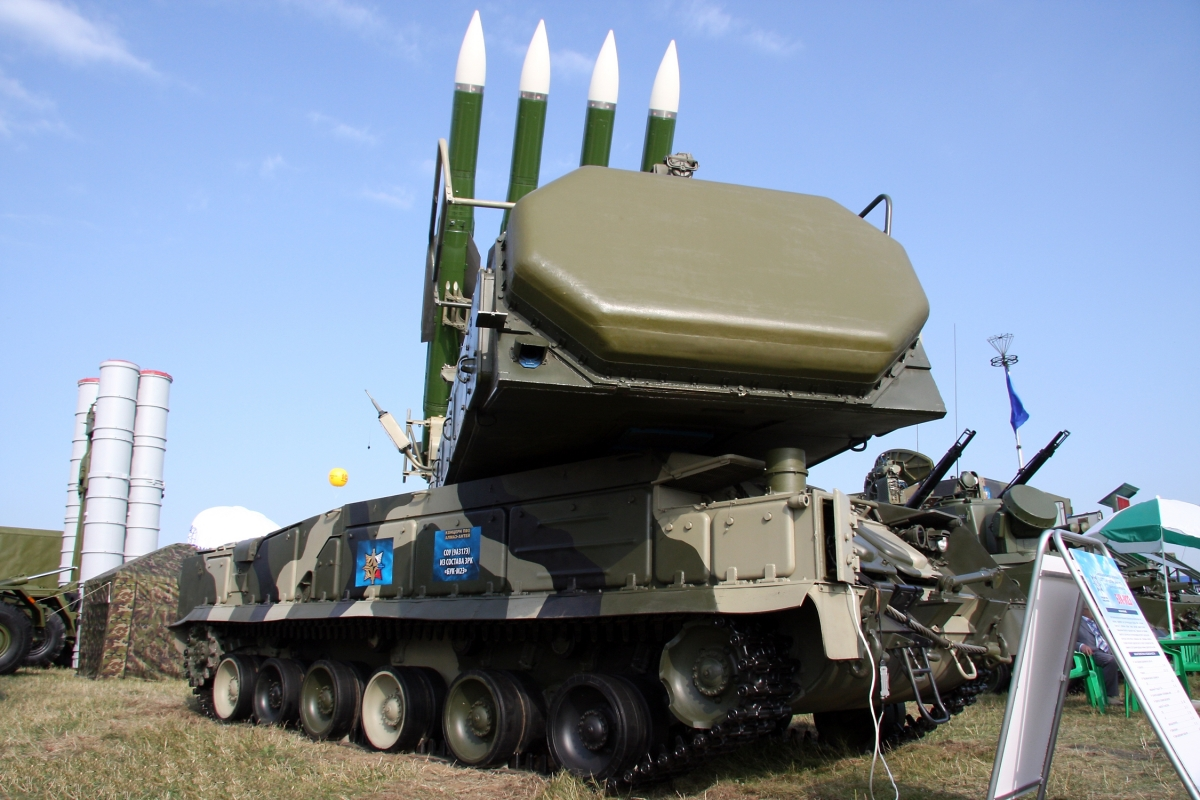 Buk-M2E in action