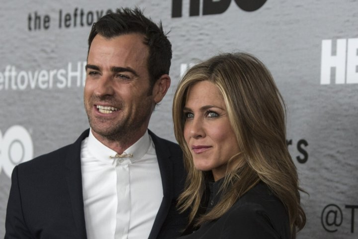 Hollywood couple Jennifer Aniston and Justin Theroux