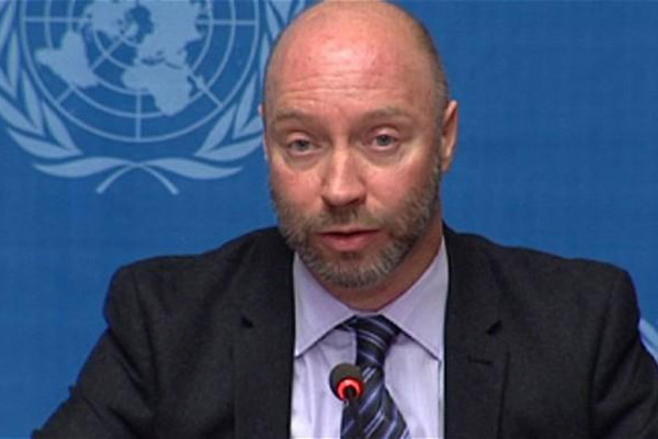 World Health Organisation spokesman Glenn Thomas, a 49-year-old Briton, was travelling to Melbourne to attend the AIDS conference