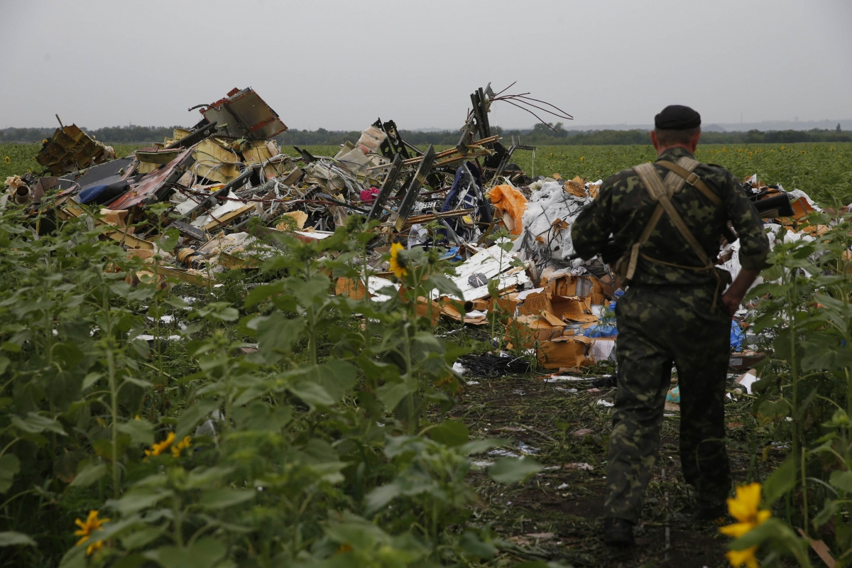 Ukraine plane crash