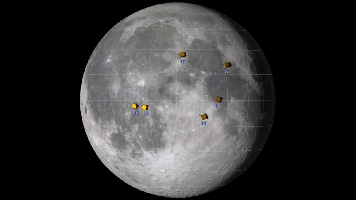 Moon Landing 45th Anniversary: How to Spot Apollo Landing Sites