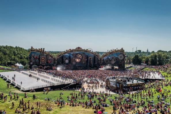 Tomorrowland electronic music festival 2015