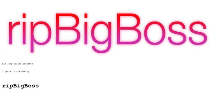 BigBoss repository