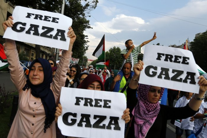 Image result for gaza protests