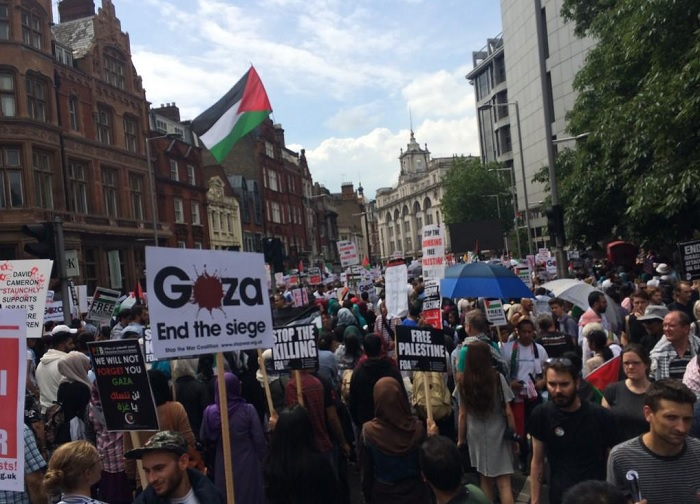 Up to 15,000 people are expected to take part in Saturday's pro-Palestine march through central London.