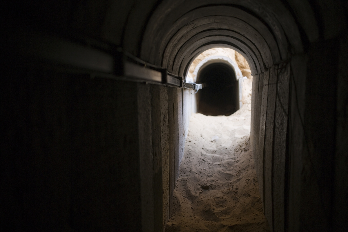 Israel's Iron Spade and Hamas terror tunnels