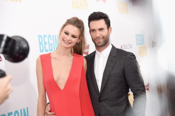 Maroon 5 Singer Adam Levine And Victoria's Secret Model